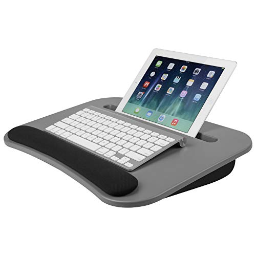 (LapGear eDesk Lap Desk - Cool Gray (Fits up to 10.1