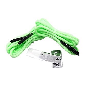 Kits de supervivencia Gear incluidas para cordones zapatos cordones, barra de magnesio, de emergencia