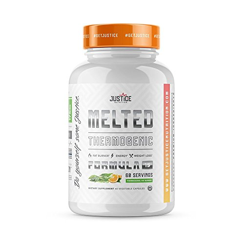 Melted - Fat Burner (Vegan Certified) Thermogenic Weight Loss Supplement - for Men and Women