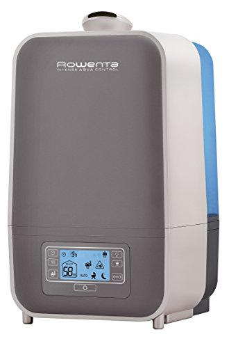 Rowenta HU5120 Intense Aqua Control Ultrasonic Warm Mist 360 Humidifier with Unique Baby Mode