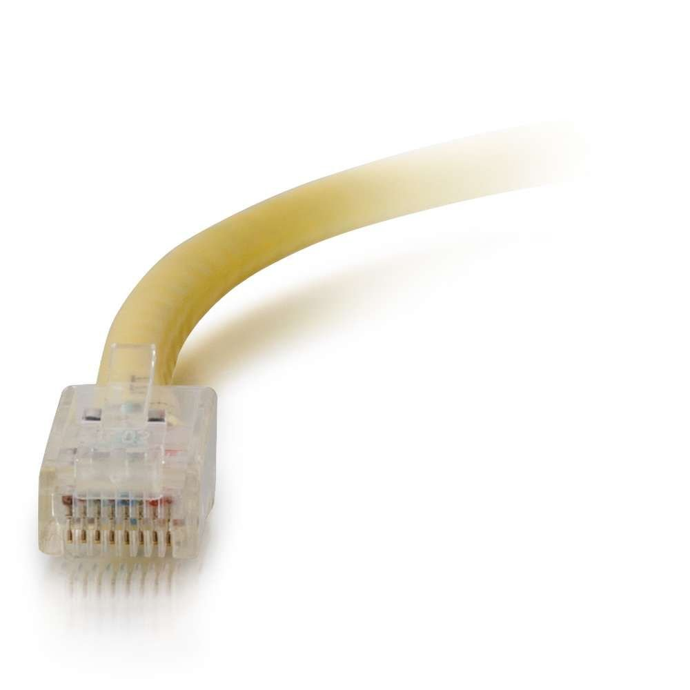 C2G 04174 Cat6 Cable Non-Booted Unshielded Ethernet Network Patch Cable 6 Feet, 1.82 Meters Yellow