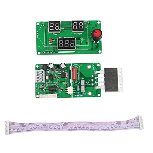 Spot Welder, Digital LCD Single Pulse Encoder Spot Welder Machine Time Control Board for Welding(#2)