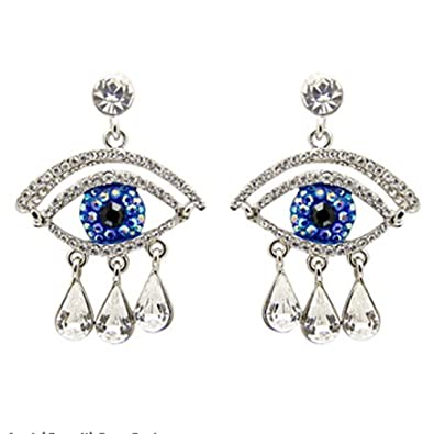 9289fd261 Butler & Wilson Big Brother Large Eye & Tears Drop Earrings: Butler & Wilson:  Amazon.co.uk: Jewellery