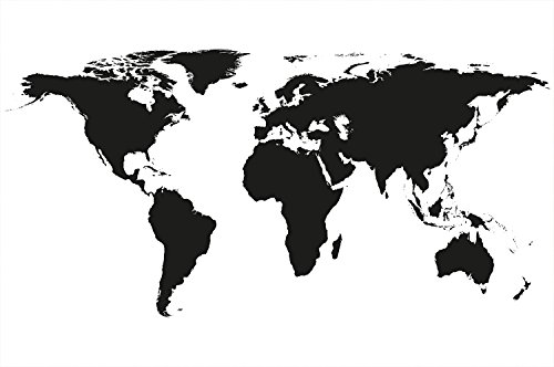Modern continents wallpaper Poster decoration product image