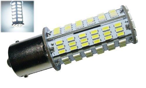 GRV BA15S 1156 1141 LED bulb 126*3014 SMD AC/DC 11-28V 4W High Bright White Pack of 2