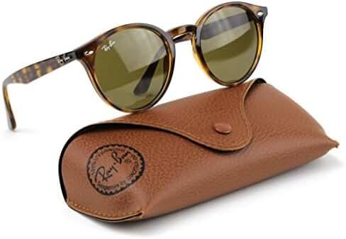 Ray-Ban RB2180 710/73 Highstreet Sunglasses Tortoise Frame / Dark Brown Lens 49mm