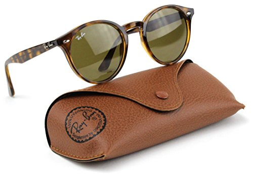 Ray-Ban RB2180 710/73 Highstreet Sunglasses Tortoise Frame / Dark Brown Lens 49mm
