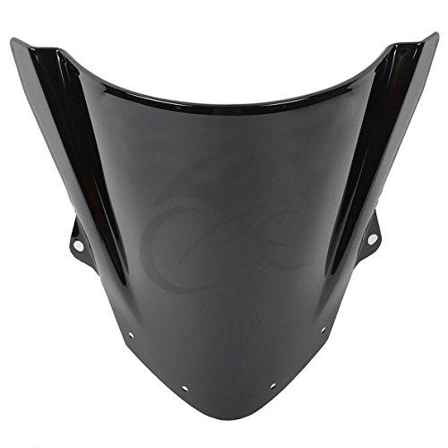 TCMT Motorcycle Windshields Black Windscreen For KAWASAKI NINJA ZX6R 2009 2010 2011 2012 2013 2014
