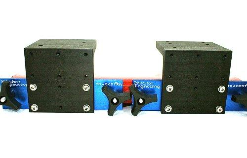 Cannon Aluminum Mounting Track (Gunnel Track Mount (Tracker Versatrack / Lund Sport Trak) Downrigger Bracket - 2 Pack)