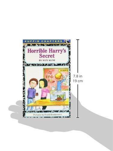 Horrible Harry's Secret: Suzy Kline, Frank Remkiewicz ...