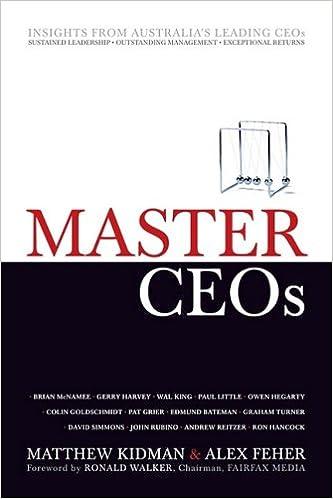 Master CEOs: Secrets of Australias Leading CEOs: Amazon.es ...