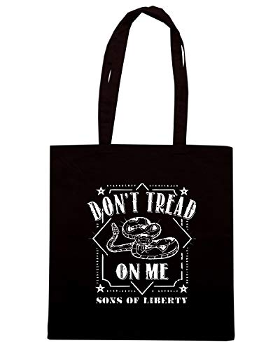 DONT Borsa Nera ME ON Shopper TREAD TM0708 qq6wxBrH