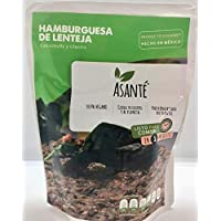 Asante HAMBURGUESA DE LENTEJA 250g
