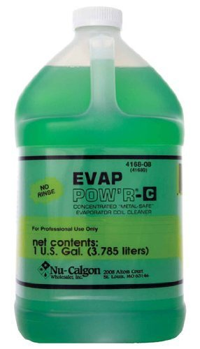 Air Conditioner Coil Cleaner - Nu-Calgon 4168-08 Evap Pow'r No Rinse Coil Cleaner