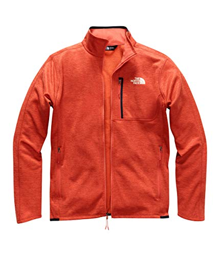 The North Face Men's Canyonlands Full Zip Zion Orange Heather Large ()