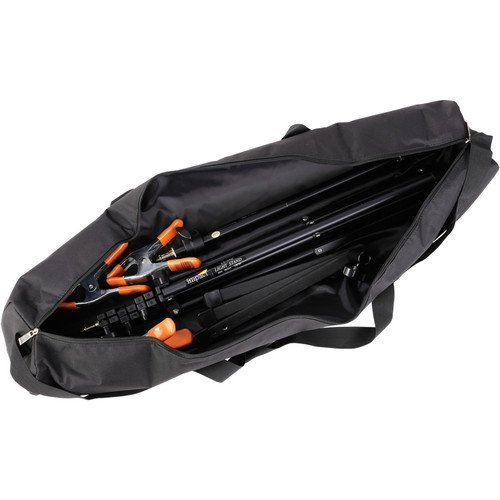 Ruggard Padded Tripod Case (35'', Black with Yellow Embroidery)