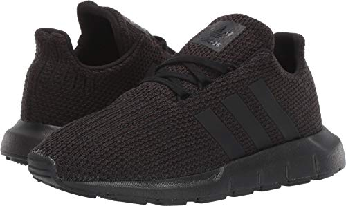 adidas Originals Unisex Swift Running Shoe, Black, 2 M US Li