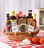 Tex-Mex Extravaganza - Gourmet Gift Basket of Sauces