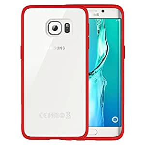 ARAREE Hue Plus Cell Phone Case for Samsung Galaxy S6 Edge+ - Retail Packaging - Red