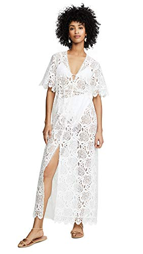 Melissa Odabash Women's Gabrielle Cover Up, Cream, Off White, Medium