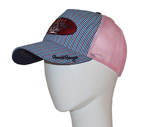 Bomb Boogie - Gorra de béisbol - para Hombre Azul Azul/Rosa Taille Unique