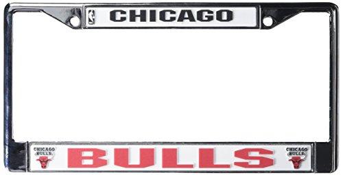 Rico Chicago Bulls Chrome License Plate (Bulls License Plate Frame)