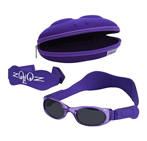 Tuga Baby / Toddler UV 400 Sunglasses w/ 2 Straps & Case, - Uv Zero