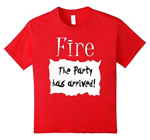 6 Group Halloween Costume Ideas (Kids Fire Hot Sauce Packet Group Halloween Costume T-shirt 6 Red)