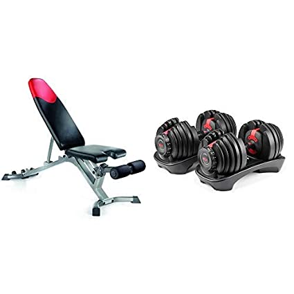 Fine Bowflex Selecttech 552 Adjustable Dumbbells Pair And Series 3 1 Bench Bundle Ocoug Best Dining Table And Chair Ideas Images Ocougorg