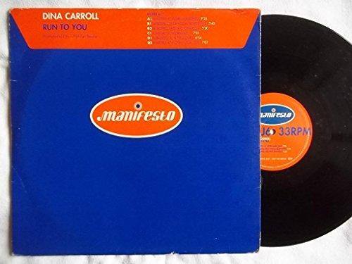 Dina Carroll Run To You 2X 12  Vinyl