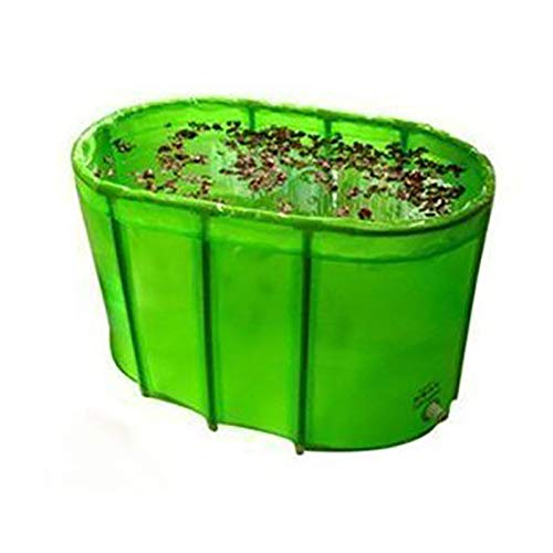 Wholesale Green double folding bathtub / bath tub /with cover and cushion for lover