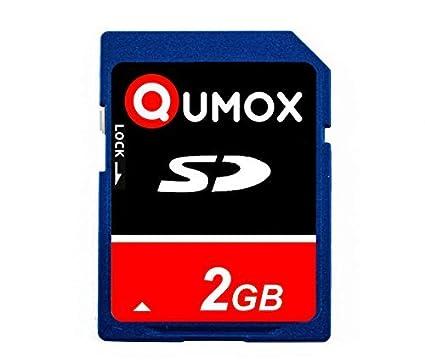 QUMOX 2GB Tarjeta SD Card para camara teléfono móvil