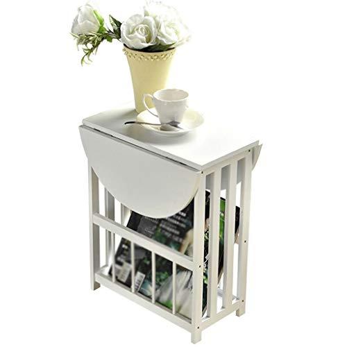 XuYuanjiaShop Mesitas de café Mini Mesa de café Plegable Simple Balcón Sala de Estar Mesa Cuadrada pequeña Mesa de Cama…