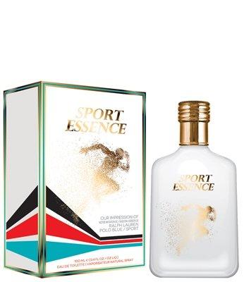 Esencia deportiva por fragancia preferida inspirada en Polo Blue Sport