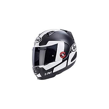 852a99c9 New REBEL PROSPECT Motorcycle Helmet Arai in Black/White: Amazon.co ...