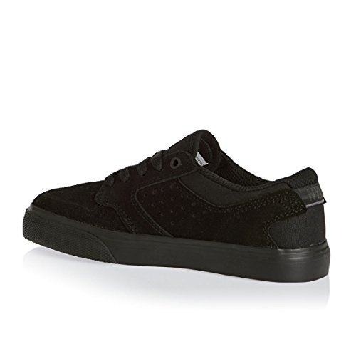 DC Shoes Nyjah Vulc, Jungen High-Top Sneaker Black/Black/Black