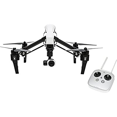 DJI Inspire 1 Starter Kit. Includes SanDisk Extreme PRO 32GB UHS-I/U3 Micro SDHC Memory Card (SDSDQXP-032G-G46A) + High Speed Memory Card Reader + SSE Transmitter Lanyard + Microfiber Cleaning Cloth + SSE FURY SPEAKER