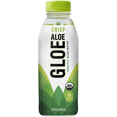 Aloe Gloe, Organic Aloe Water, Crisp Aloe, 15.2-Ounce (Pack of - Uv Zero Com