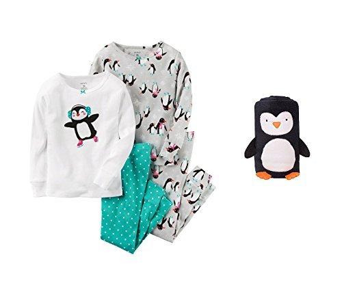 史上一番安い Carter Baby 's Baby Carter Girl 'sペンギン4 Pieceパジャマセットwith Matching B01NCY1R0T Blanket 18 Months B01NCY1R0T, Lesprit de fille:a11e3a47 --- a0267596.xsph.ru