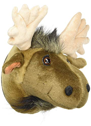 Carstens, Inc Anmial Wall Décor Friendly Faces Mini Moose Plush Trophy Mount