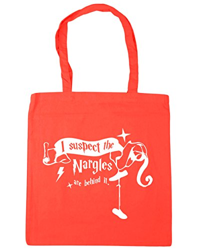 Quote Suspect Coral 10 42cm I HippoWarehouse Are litres Gym Behind Beach Tote Nargles It The Bag x38cm Shopping xSw15wq0T