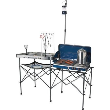 Ozark Trail Deluxe Portable Camp Kitchen Table by Ozark Trail by Ozark Trail