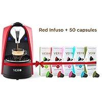 VERO Infuso (Red) + 50 VERO Coffee Capsules