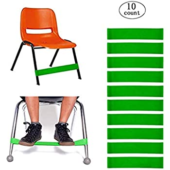 Amazon Com Kick Rubber Chair Bands For Kids,stretch