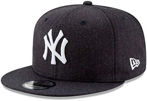 d2c7ed99ba91b Amazon.com   New Era New York Yankees 9FIFTY MLB Heather Crisp 3