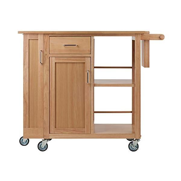 Winsome 89443 Douglas Cart Kitchen, Natural 42.52x18.98x35.35
