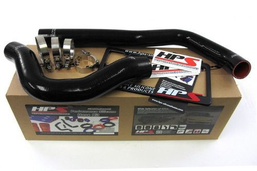 HPS (57-1222-BLK) Black Silicone Radiator Hose Kit for Dodge RAM Pickup