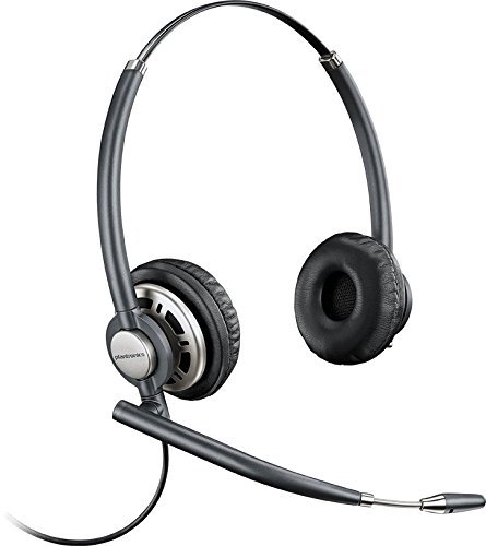 Plantronics EncorePro HW720 Customer Service Headset (Certified Refurbished) (Replacement Plantronics Headband)