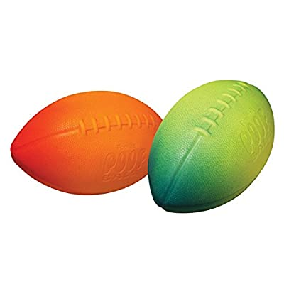 POOF Standard Football, 9.5 Inch, Colors May Vary Kids Foam Football: Toys & Games