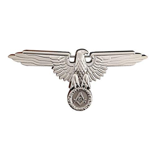 GuDeKe Masonic Mason Freemason Freemasonry Eagle Pin Nickel